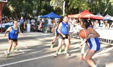 Destacada participación de niñas en campeonato de básquetbol