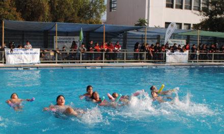 Con muestra deportiva establecimientos DAEM culminaron curso de natación