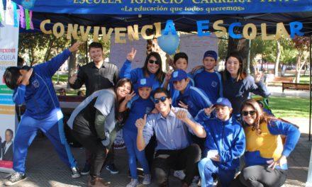 Establecimientos DAEM de Los Andes celebran el Día de la Convivencia Escolar