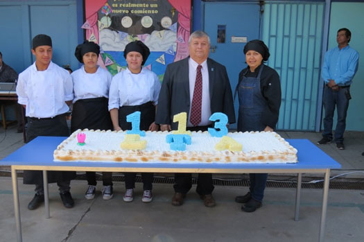 Liceo Técnico Amancay de Los Andes celebró sus 113 años