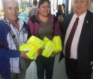 Iniciativa del Liceo Amancay Dotará de Chalecos Reflectantes a Estudiantes del Camino Internacional