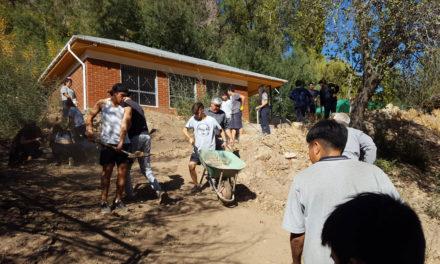 Estudiantes de Liceo Max Salas participan de instancia cooperativa en Escuela Río Blanco