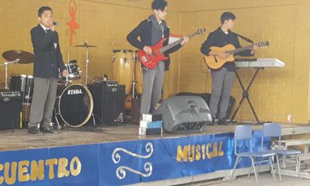 Escuela José Miguel Carrera: talento y creatividad en encuentro musical