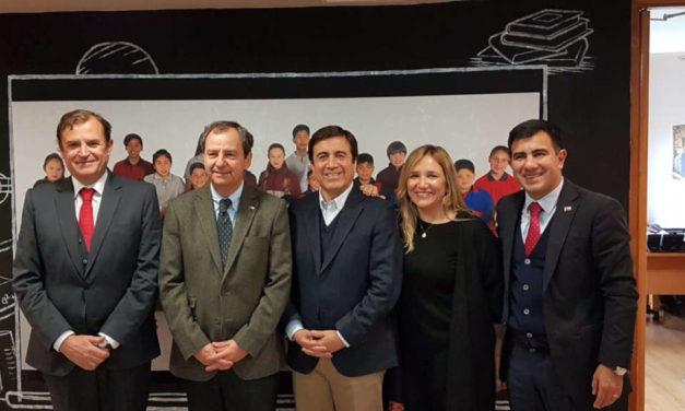 Autoridades confirman Centro de Formación Técnica Estatal en Los Andes.