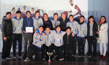 Municipalidad de Los Andes reconoció a los campeones comunales de los Juegos Deportivos Escolares