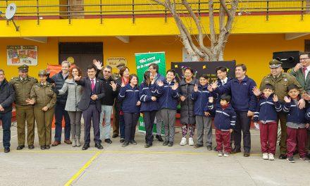 Se lanza iniciativa de seguridad vial en escuela El Sauce