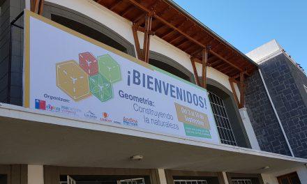 """Estudiantes de establecimientos de la red municipal asisten a muestra """"Geometría: Construyendo la naturaleza"""""""