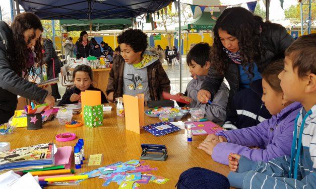 Escuela Ignacio Carrera Pinto une a la creatividad y la integración en su Encuentro Con El Arte Pie 2018