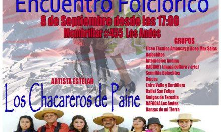 Liceo Técnico Amancay de Los Andes celebra una nueva versión de su tradicional Encuentro Folclórico