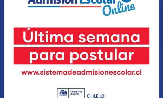 Sistema de admisión escolar se implementa de forma exitosa en Los Andes