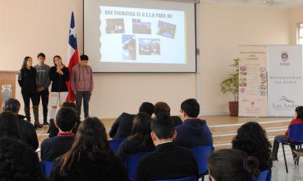 Alumnos de Los Andes dialogaron con las autoridades en sesión del Consejo Consultivo local