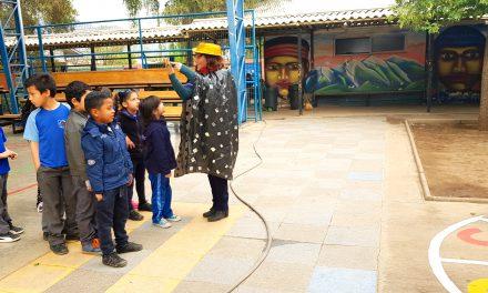 Escuela Ignacio Carrera Pinto inaugura rincón de juegos
