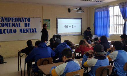 Con participación de planteles municipales Escuela Gabriela Mistral realiza su 3er concurso de cálculo mental