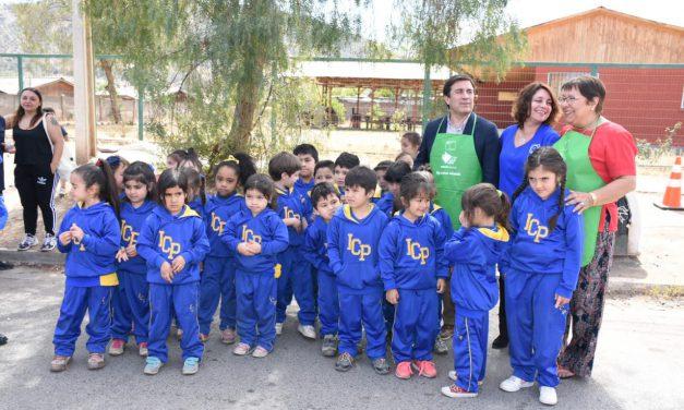 Colegios de Los Andes incentivan hábitos saludables en el Día Mundial de la Alimentación