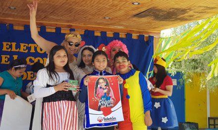 Escuela Ignacio Carrera Pinto inicia su campaña solidaria en el marco de la Teletón 2018