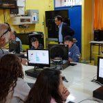Estudiantes de Escuela John Kennedy se capacitan en programación
