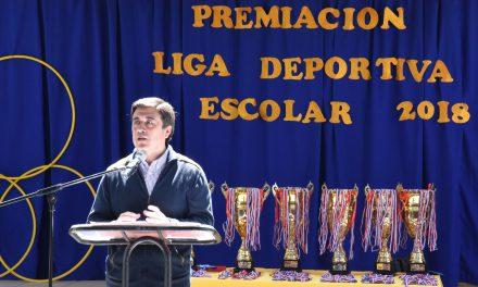 Comprometida participación de establecimientos educacionales en Liga Deportiva Escolar 2018