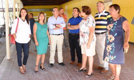 Alcalde Manuel Rivera junto a Concejo Municipal inspeccionaron obras de la nueva Escuela España y República Argentina