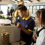 Estudiantes de Liceo América de Los Andes participan en Taller de Tecnologías Innovadoras