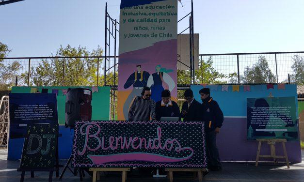 Liceo América inicia su año escolar con fiesta ABP