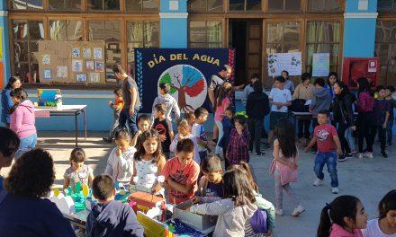 Educación ambiental en escuelas municipales de Los Andes