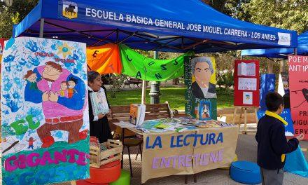 Escuelas de la red municipal de Los Andes Celebran el Día Internacional Del Libro Y Los Derechos De Autor