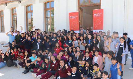 Estudiantes de la red municipal de Los Andes participan en taller de Explora