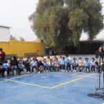 Escuela John Kennedy y Carabineros realizan charla de seguridad vial
