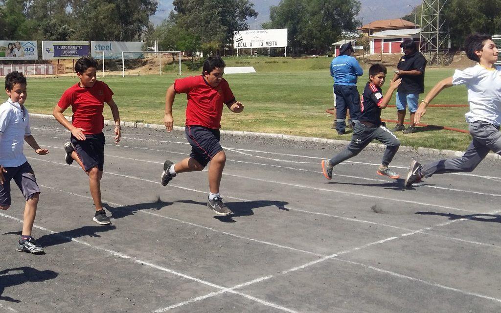 Juegos Deportivos Escolares comunales: promoviendo el deporte en Los Andes