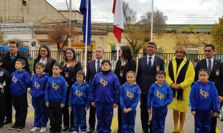 Escuela Ignacio Carrera Pinto realizó tradicional saludo a Policía de Investigaciones en su aniversario