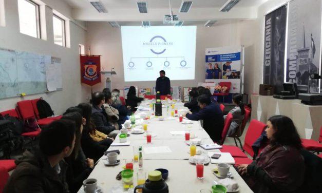 Delegación proveniente de Perú conoció experiencia de modelo pionero del Liceo Politécnico América de Los Andes