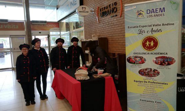 Alumnos de Escuela Especial Valle Andino invitan a su punto de ventas en Espacio Urbano