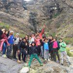 Niños andinos disfrutan de campamentos de invierno