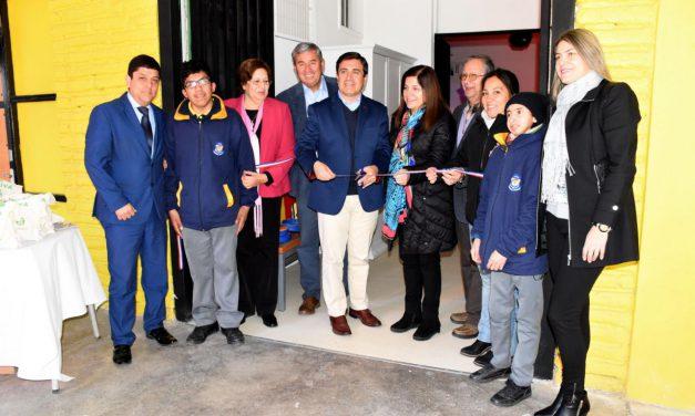 En Liceo América de Los Andes inauguran primera Sala de Estimulación Multisensorial de la región