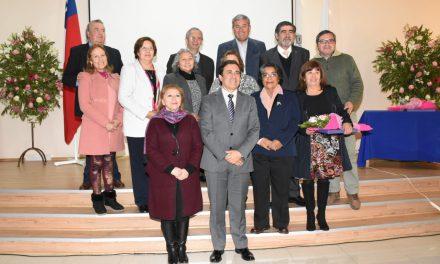 Con emotivo homenaje comunidad reconoce a docentes que pasan a retiro