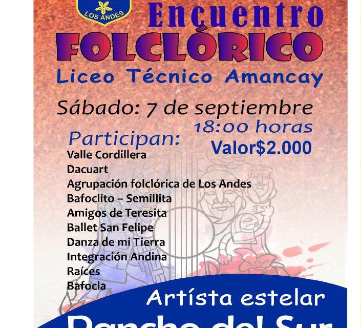 Liceo Técnico Amancay de Los Andes celebra Su XXXI Encuentro Folclórico