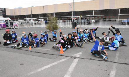 Jóvenes talentos se lucieron en Campeonato de Patín Carrera Aniversario de Los Andes