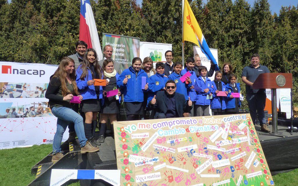 Nuevos alumnos de Escuela El Sauce destacan con proyecto de investigación en Feria Educativa en Viña del Mar