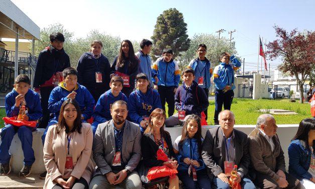 Delegaciones de escuelas municipales de Los Andes exponen interesantes temas en congreso provincial de ciencia escolar