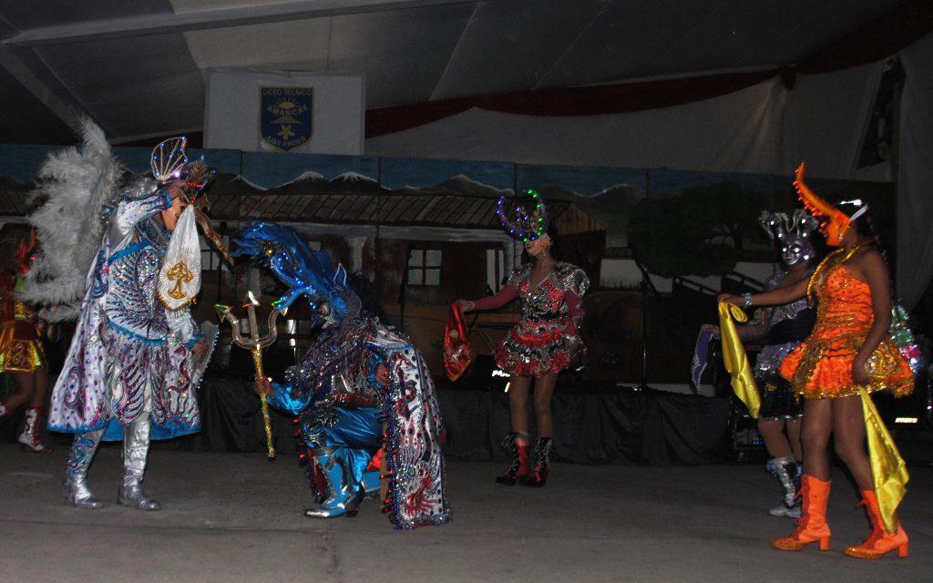 Liceo Técnico Amancay celebró su XXXI Encuentro Folclórico