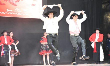Liceo Max Salas rinde homenaje a destacada docente en XXVII Gala Folclórica