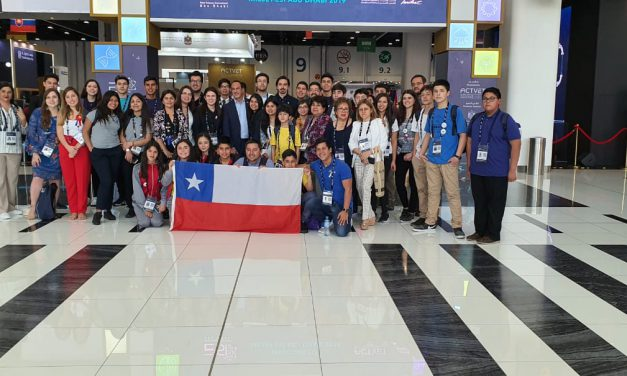 Academia de Ciencias de Escuela El Sauce se luce en Emiratos Árabes Unidos