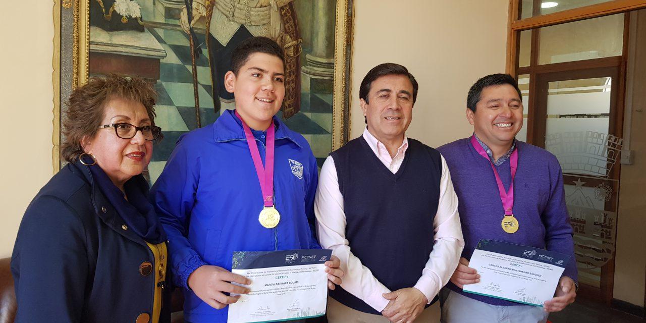 Escuela el Sauce culmina años de trabajo representando a Chile en Emiratos Árabes