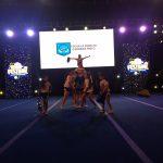 Equipo de cheerleader de escuela Ignacio Carrera Pinto destaca en torneo metropolitano