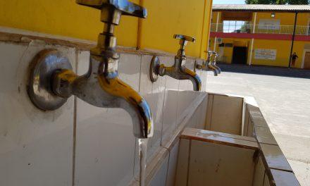 Escuela España y Esval inauguran proyecto de eficiencia hídrica