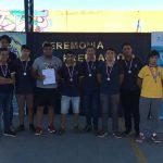 Culminó la primera liga masculina de fútbol para estudiantes secundarias y de educación superior