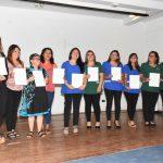 """Educadoras de jardines infantiles de Los Andes se certifican en Programa """"Quik"""""""