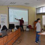 Estudiantes de Escuela Río Blanco lucieron sus conocimientos en robótica frente a investigadores de la UPLA