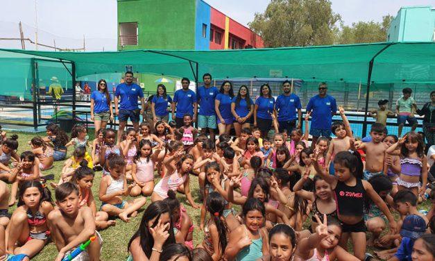 Con éxito culmina programa Escuelas Abiertas implementado por DAEM Los Andes