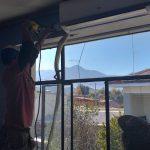Avanza instalación de climatización en establecimientos municipales de Los Andes